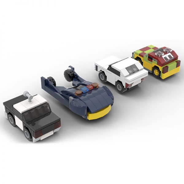 MOC 19467 Dimension Style Iconic Movie TV Cars Creator by MOMAtteo79 MOC FACTORY 3 - MOULD KING