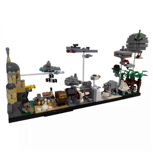 MOC 19493 Star Wars Skyline Architecture SW by MOMAtteo79 MOC FACTORY 2 - MOULD KING