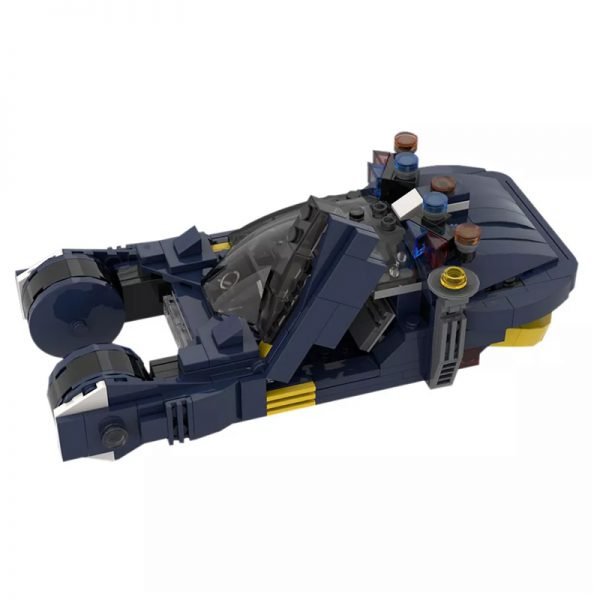 MOC 20383 Blade Runner Spinner 1982 Movie by MOMAtteo79 MOC FACTORY 2 - MOULD KING