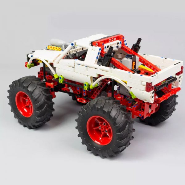 MOC 20507 Monster Truck Off road Car by Nico71 MOC FACTORY 3 - MOULD KING