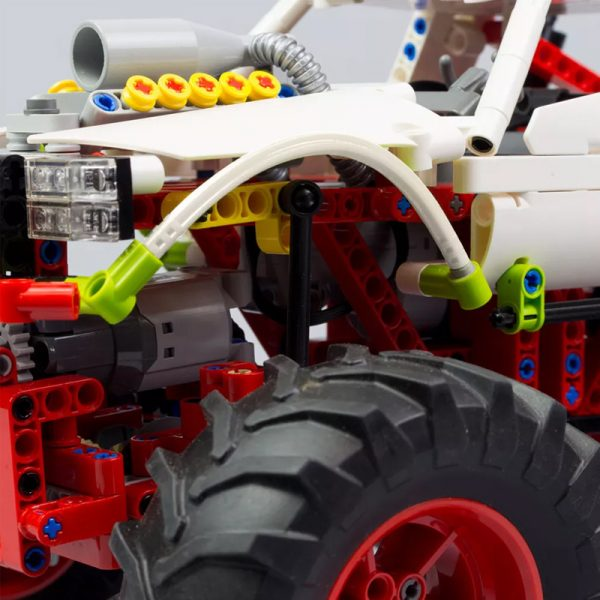 MOC 20507 Monster Truck Off road Car by Nico71 MOC FACTORY 6 - MOULD KING