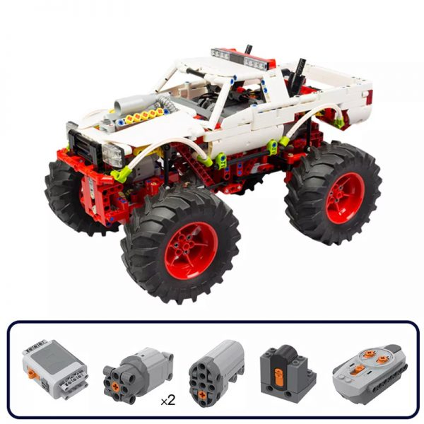 MOC 20507 Monster Truck Off road Car by Nico71 MOC FACTORY 8 - MOULD KING