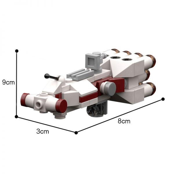 MOC 20584 Tantive IV in UCS ISD Scale Star Wars by RobertBrick MOC FACTORY 2 - MOULD KING