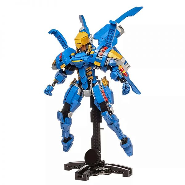 MOC 21722 Overwatch Pharah Super Hero by buildbetterbricks MOC FACTORY 3 - MOULD KING