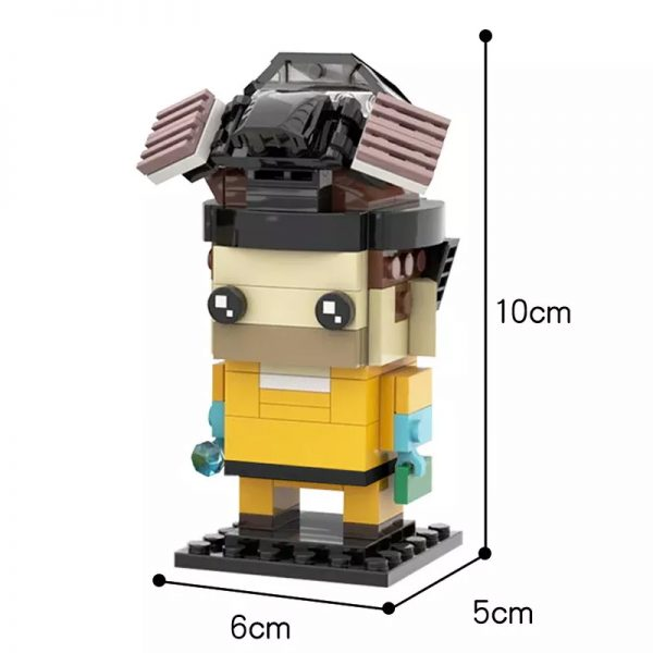 MOC 22534 Breaking Bad Brickheadz Collection Walter White Jesse Pinkman Creator by mkibs MOC FACTORY 2 - MOULD KING