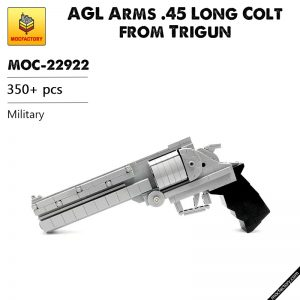MOC 22922 AGL Arms .45 Long Colt from Trigun Military by Lioncity Mocs MOC FACTORY - MOULD KING