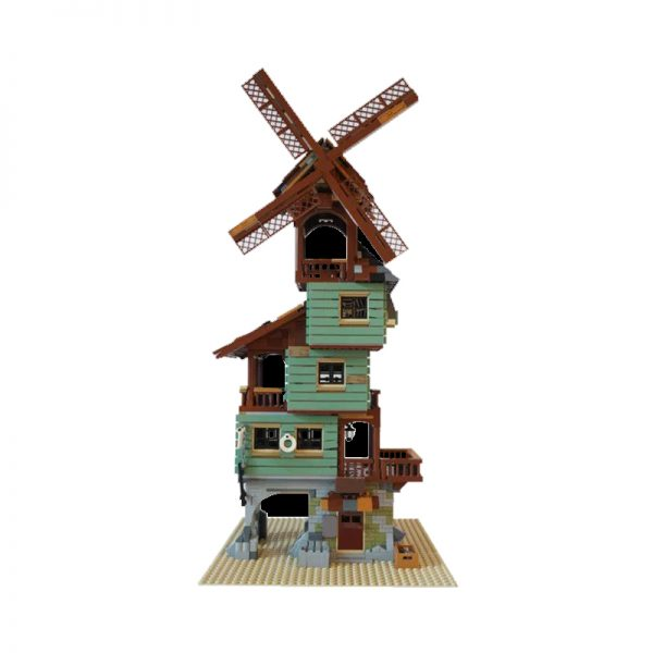 MOC 24737 Old Mill by the Sea Modular Building by nobsta MOC FACTORY 3 - MOULD KING