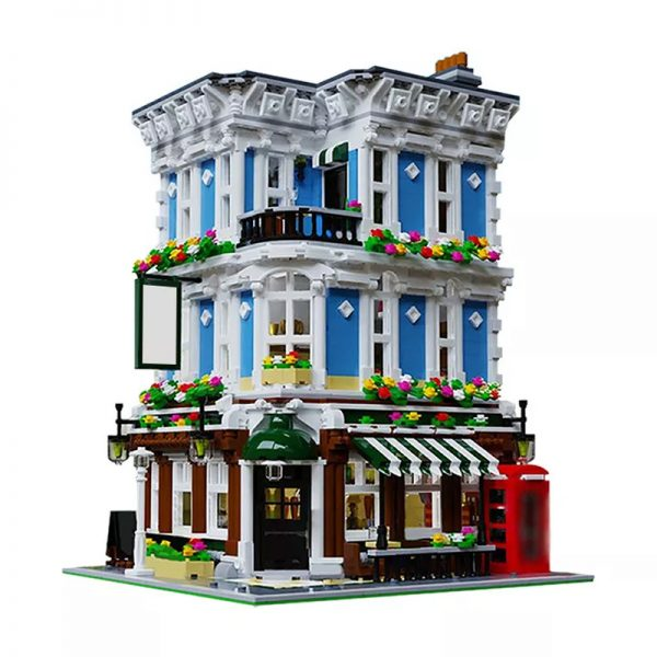 MOC 28774 The Queen Bricktoria Modular Buildings by Bricked1980 MOC FACTORY - MOULD KING