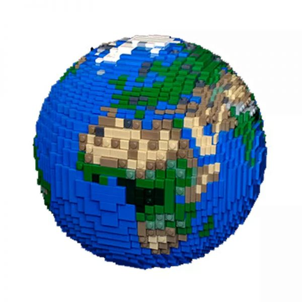 MOC 28967 The Earth Creator by thire5 MOCFACTORY 5 - MOULD KING