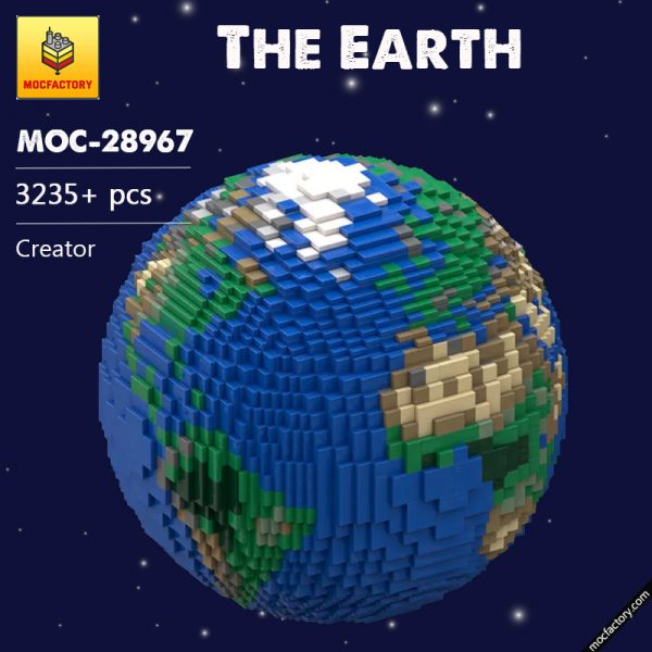MOC 28967 The Earth Creator by thire5 MOCFACTORY - MOULD KING