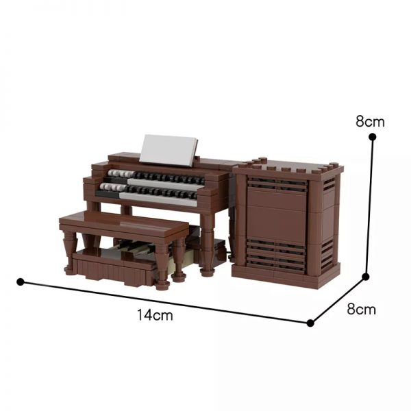 MOC 29914 Hammond B3 Creator by TOPACES MOC FACTORY 2 - MOULD KING