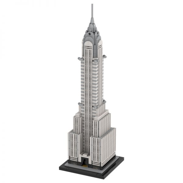 MOC 30051 Chrysler Building Modular Building by TOPACES MOC FACTORY 2 - MOULD KING