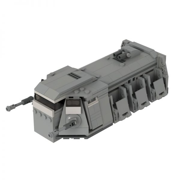 MOC 31635 Imperial Troop Transport Star Wars by GamerBambii MOC FACTORY 2 - MOULD KING