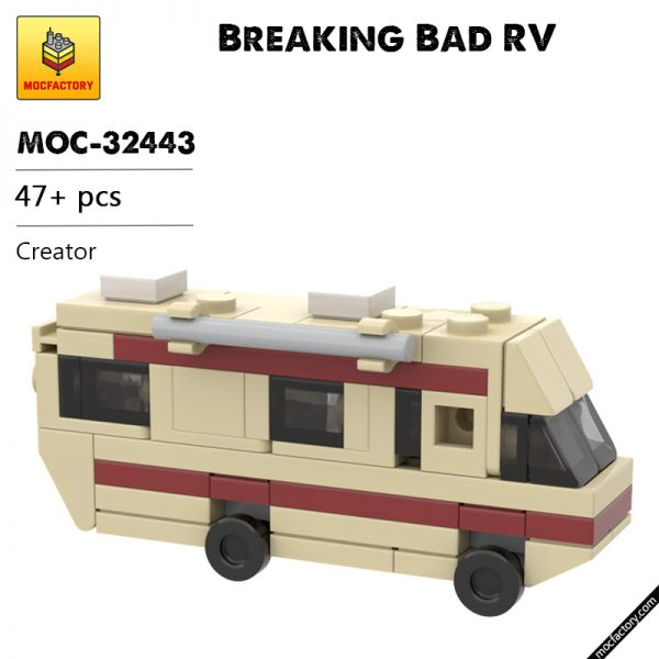 MOC 32443 Breaking Bad RV Creator by blocksmiths MOC FACTORY - MOULD KING