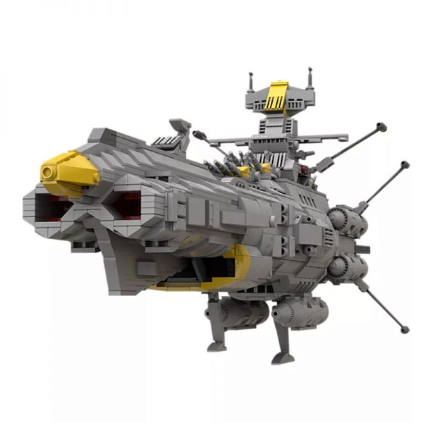 MOC 32484 Space Battleship Andromeda Space by apenello MOC FACTORY 4 - MOULD KING