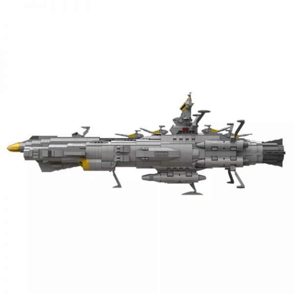 MOC 32484 Space Battleship Andromeda Space by apenello MOC FACTORY 5 - MOULD KING