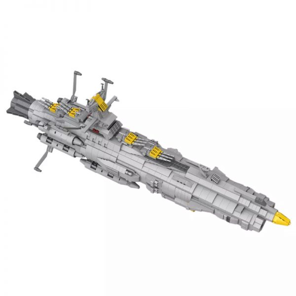 MOC 32484 Space Battleship Andromeda Space by apenello MOC FACTORY 6 - MOULD KING