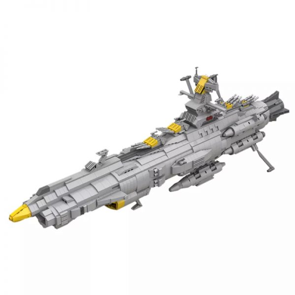 MOC 32484 Space Battleship Andromeda Space by apenello MOC FACTORY - MOULD KING