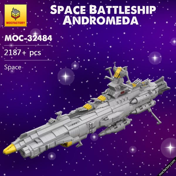 MOC 32484 Space Battleship Andromeda Space by apenello MOC FACTORY 7 - MOULD KING