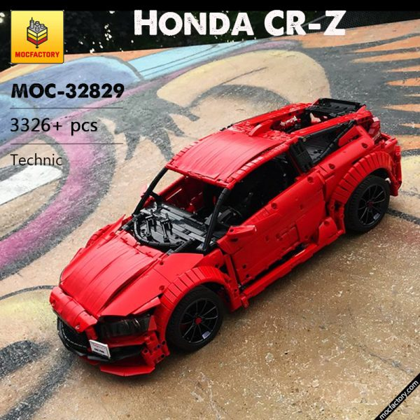 MOC 32829 Honda CR Z Technic by Loxlego MOC FACTORY 6 - MOULD KING