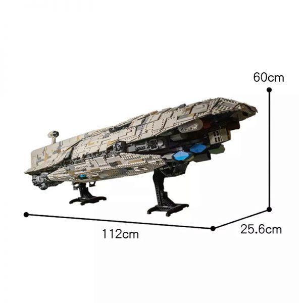 MOC 33315 Cavegod UCS GR 75 Rebel Transport Star Wars by AllOutBrick MOC FACTORY 6 - MOULD KING