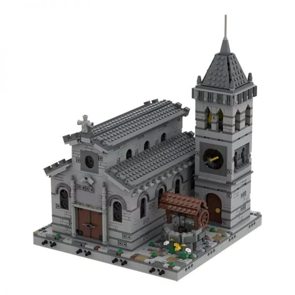 MOC 33985 Medieval Church Modular Building by Tavernellos MOCFACTORY 2 - MOULD KING