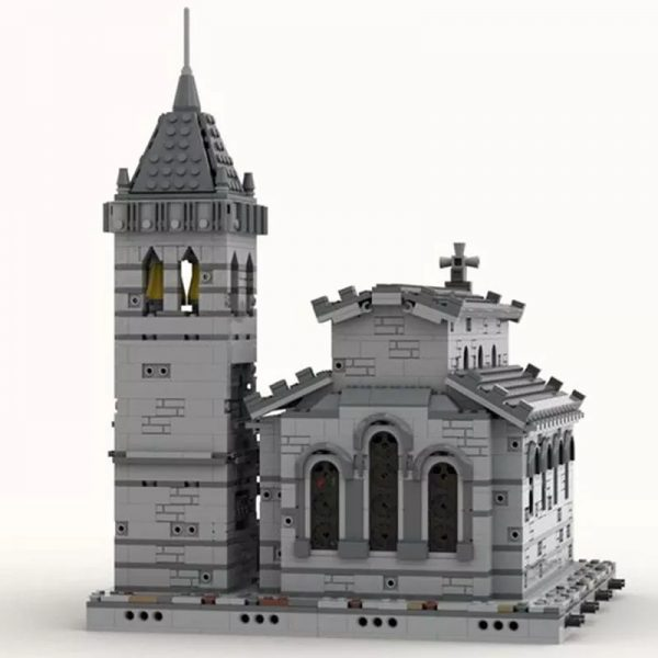MOC 33985 Medieval Church Modular Building by Tavernellos MOCFACTORY 3 - MOULD KING