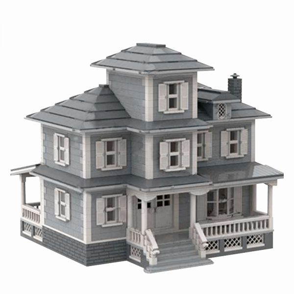 MOC 34209 Country House Modular Building by jepaz MOC FACTORY 2 - MOULD KING