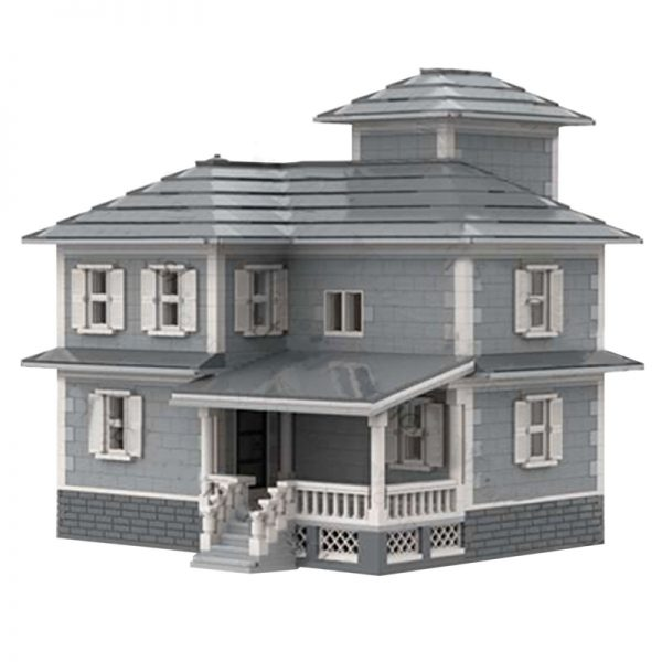 MOC 34209 Country House Modular Building by jepaz MOC FACTORY 3 - MOULD KING