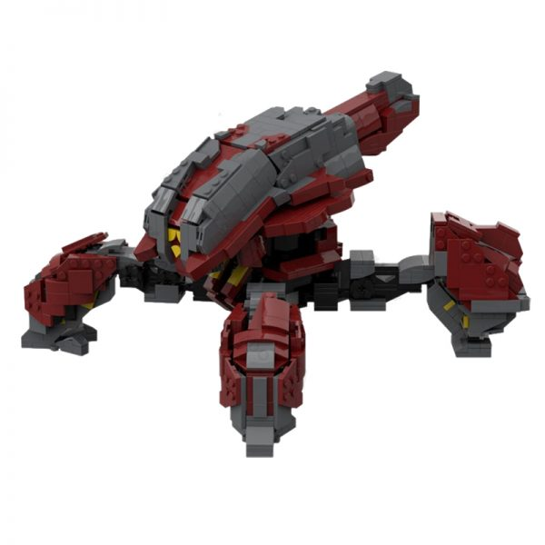 MOC 35252 Halo Wars 2 Banished Locust Creator by WookieeCookies MOC FACTORY 2 - MOULD KING