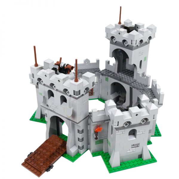 MOC 35273 The Modular Knights Castle Modular Building by klockizbroda MOC FACTORY 2 - MOULD KING