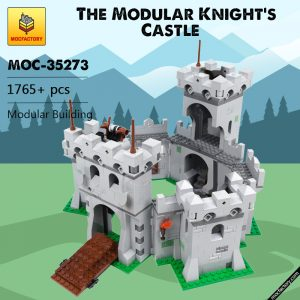 MOC 35273 The Modular Knights Castle Modular Building by klockizbroda MOC FACTORY - MOULD KING