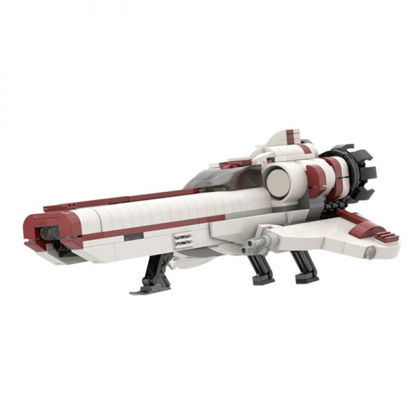 MOC 35518 LEGO Galactica Viper MOC S3 Space by ohsojang MOC FACTORY 3 - MOULD KING
