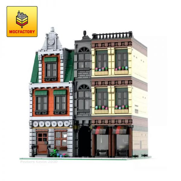 MOC 37229 Modular DownTown CityCenter by PeetersKevin MOC FACTORY - MOULD KING