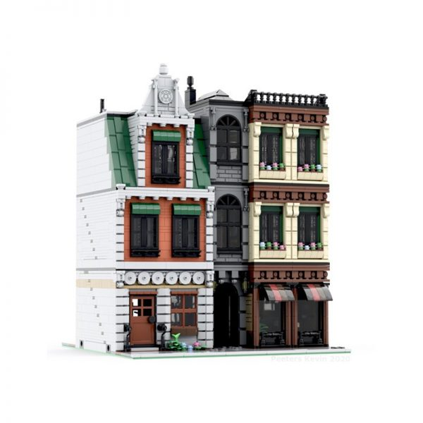 MOC 37229 Modular DownTown CityCenter by PeetersKevin MOC FACTORY2 - MOULD KING