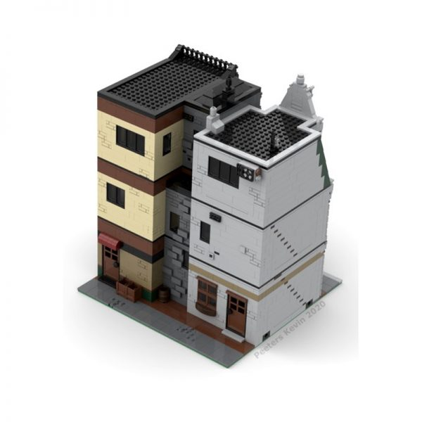 MOC 37229 Modular DownTown CityCenter by PeetersKevin MOC FACTORY3 - MOULD KING