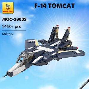 MOC 38032 F 14 TOMCAT Military by ale0794 MOC FACTORY - MOULD KING