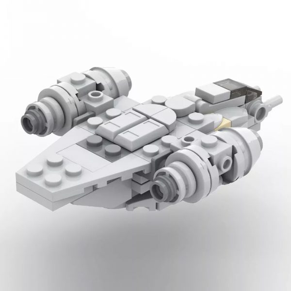 MOC 38715 Micro Razor Crest Star Wars by ron mcphatty MOC FACTORY 3 - MOULD KING