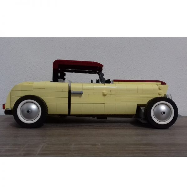 MOC 41269 Ford Model B 1932 Technic by ale0794 MOC FACTORY 3 - MOULD KING