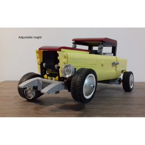 MOC 41269 Ford Model B 1932 Technic by ale0794 MOC FACTORY 4 - MOULD KING