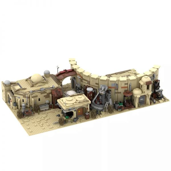 MOC 41406 Mos Eisley Spaceport from A New Hope 1977 Star Wars by ZeRadman MOC FACTORY 2 - MOULD KING