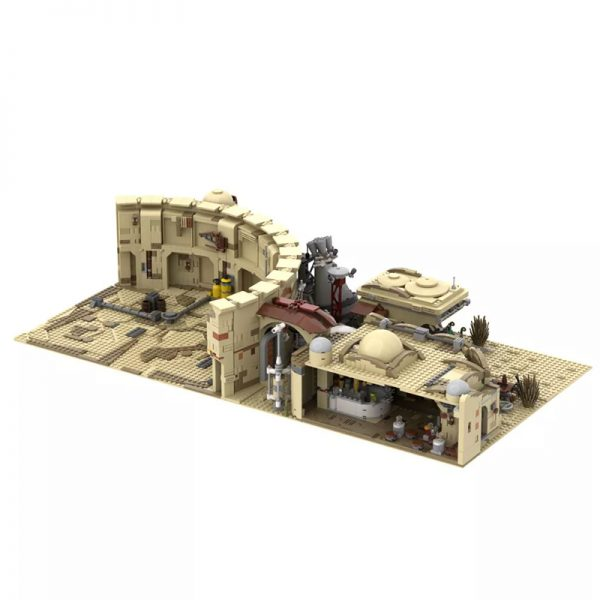 MOC 41406 Mos Eisley Spaceport from A New Hope 1977 Star Wars by ZeRadman MOC FACTORY 3 - MOULD KING