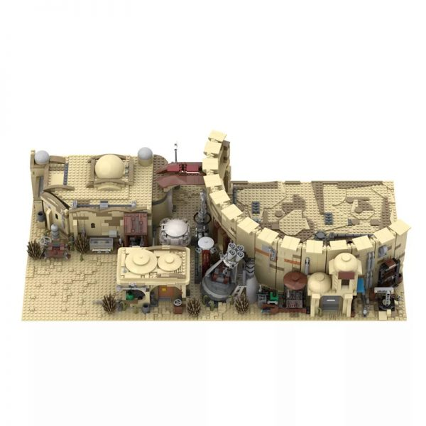MOC 41406 Mos Eisley Spaceport from A New Hope 1977 Star Wars by ZeRadman MOC FACTORY 4 - MOULD KING