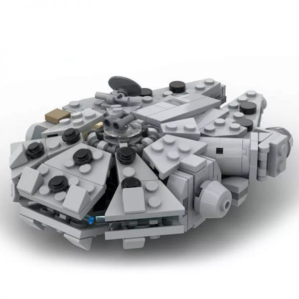 MOC 41461 Millenn ium Falcon Micro With cradle stand Star Wars by 6211 MOCFACTORY 4 - MOULD KING