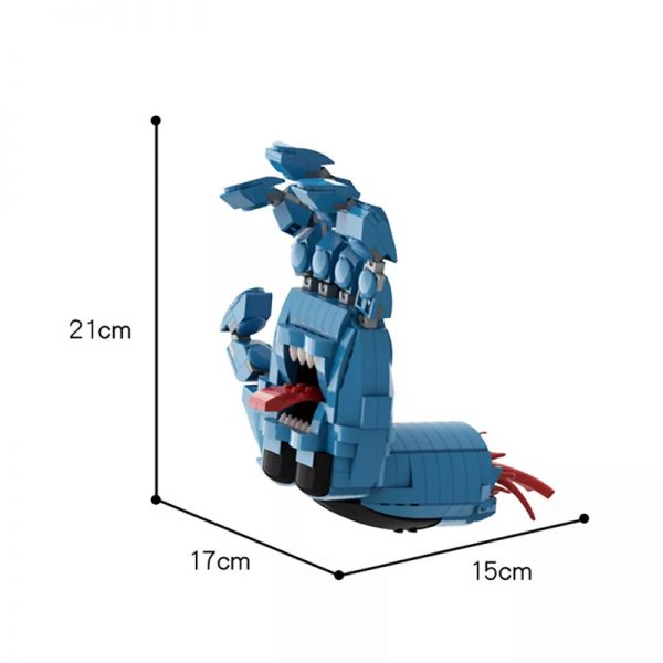 MOC 41630 Screaming Hand Creator by Brick Flag MOC FACTORY 2 - MOULD KING