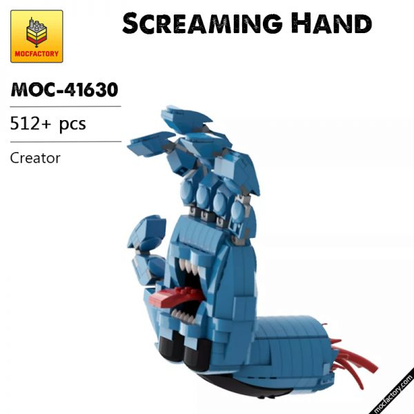 MOC 41630 Screaming Hand Creator by Brick Flag MOC FACTORY - MOULD KING