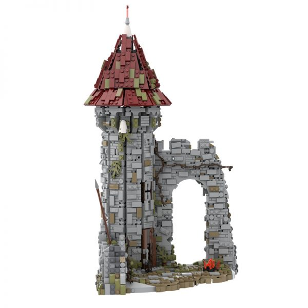 MOC 42261 Castle for the game Dark Souls Modular Building by povladimir MOC FACTORY 4 - MOULD KING
