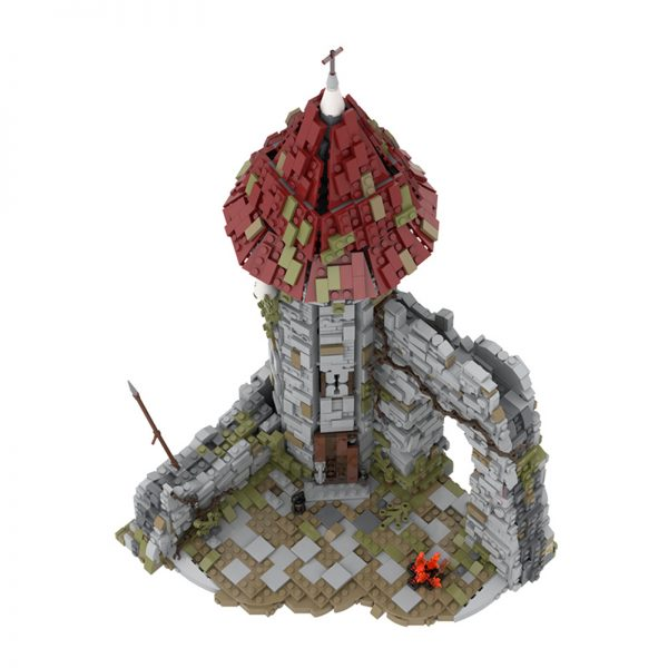 MOC 42261 Castle for the game Dark Souls Modular Building by povladimir MOC FACTORY 5 - MOULD KING
