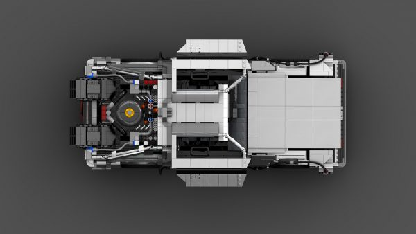 MOC 42632 Back to the Future 1985 DeLorean Time Machine byluissaladrigas MOC FACTORY 6 - MOULD KING