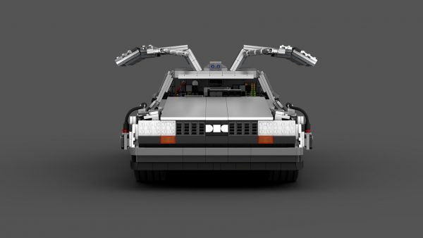 MOC 42632 Back to the Future 1985 DeLorean Time Machine byluissaladrigas MOC FACTORY 8 - MOULD KING